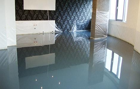 Наливной пол зеркальный тексил в казани