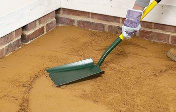 трамбование песка