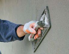 штукатурка стен цементная