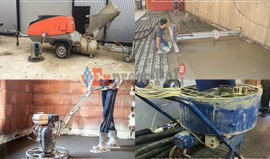 оборудование для механизированной стяжки